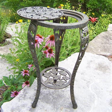 oakland living vineyards grape cast iron table plant