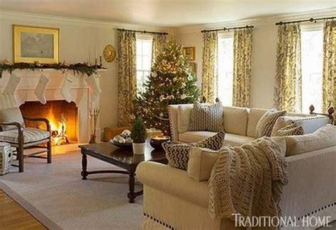 55 Warm Christmas Living Room Décor Ideas