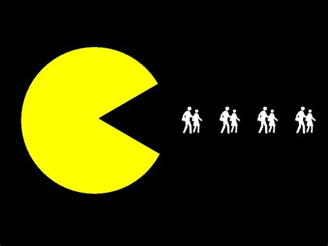 Animated Pacman Wallpaper - pac logo hd wallpaper background images