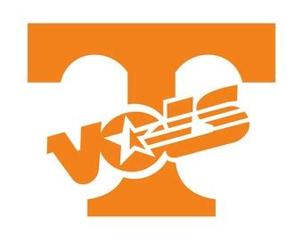 I thought this would look great with gold foil on a black tote. tennessee vols svg - Etsy