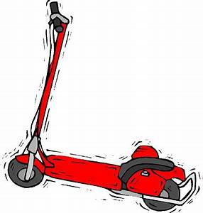 One Knee Scooter Clipart   ClipArtHut - Free Clipart