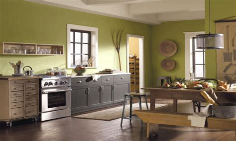 Ideas For Kitchen Paint by The Black Dining Rooms Green Kitchen Paint Color