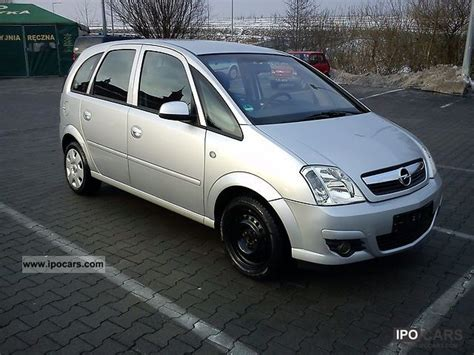 opel meriva 2006 2006 opel meriva car photo and specs