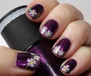 fall nail trend purple nail designs fashionsy