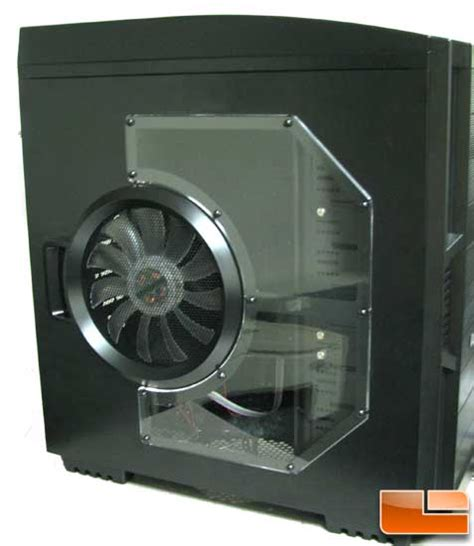 pc side panel fan azza solano 1000 atx full tower pc case review page 2 of