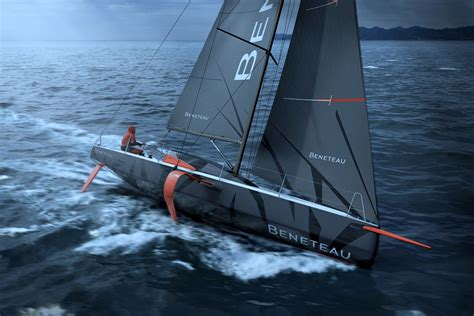 Monohull Boat by Beneteau Builds World S Production Foiling Monohull