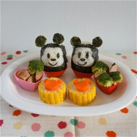 minnie mouse rice ball archives working moms edible art