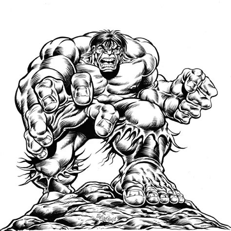 hulk annual cover comic art community gallery  comic art