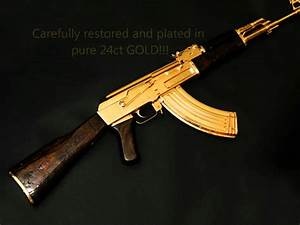 AK47 Gold Plated - YouTube