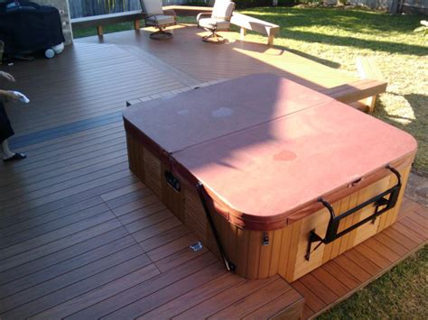 deck tub decks with tubs the outstanding home deck design