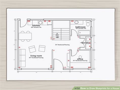 How To Find Blueprints Of Your House by How To Draw Blueprints For A House With Pictures Wikihow