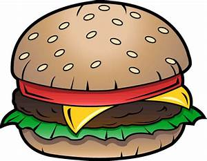 Free Clip-Art: Food » Junk Food » Cheeseburger