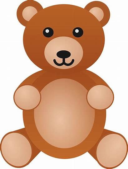 Bear Scared Clipart Clip Transparent Background Toys