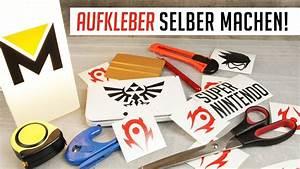 Selber Videos Machen : aufkleber selber machen tutorial youtube ~ Watch28wear.com Haus und Dekorationen