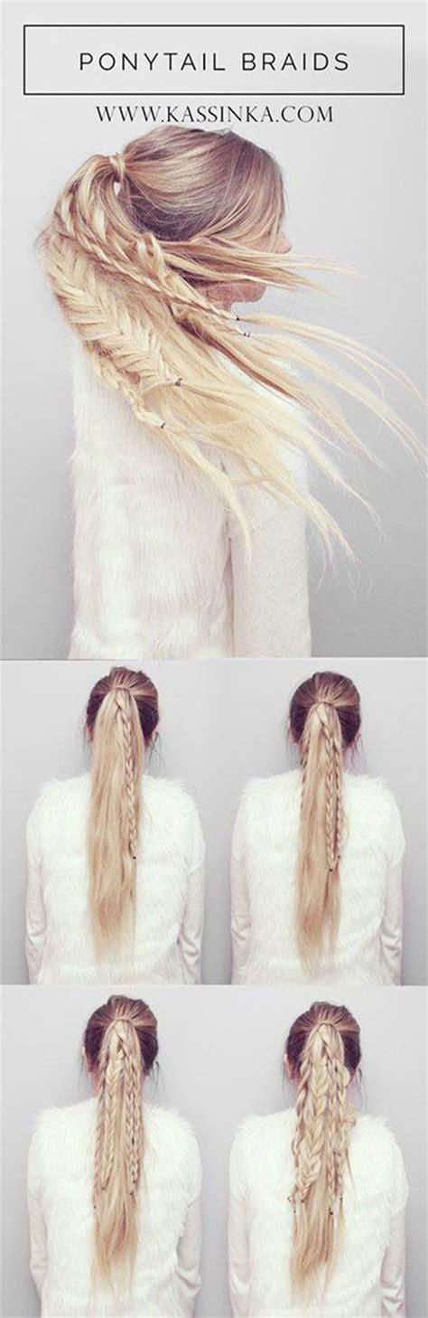 easy step  step summer hairstyle tutorials