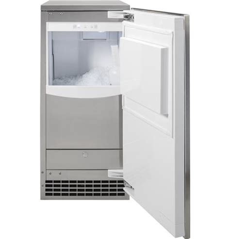 uncnjii ice maker   nugget ice monogram appliances