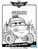 Dynamite Coloring Disney Planes Pages Printable Rescue Fire Plane Coloriage Hellokids Printables sketch template