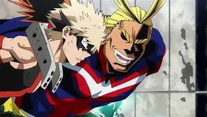 All Might Vs Midoriya And Bakugou - Coub
