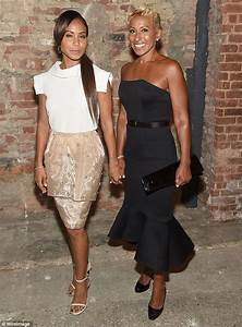 We see where she gets it from! Jada Pinkett Smith and her ...