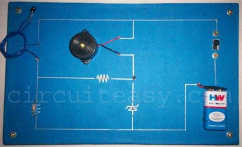 Heat Sensor Electronic Projects Circuit Made Easy