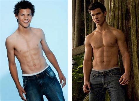 Taylor Lautner Before and After