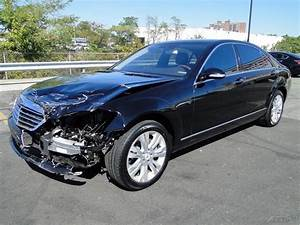 luxury 2009 Mercedes Benz S Class S550 repairable for sale