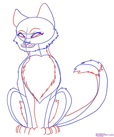 draw  anime cat step  step drawing sheets added