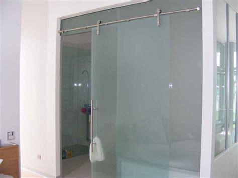 sliding frameless shower doors frameless sliding glass shower doors home depot