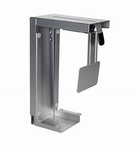 Pc Halterung Schreibtisch : cpu halterung zum unterschrauben unter die tischplatte dreifach verstellbar und drehbar ~ A.2002-acura-tl-radio.info Haus und Dekorationen