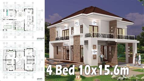 Home Design Interior And Exterior by 4b Home Design Plan Exterior And Interior 10x15 6m