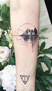 Tatouage Paysage Montagne : reflection of forest and mountain tattoo tattoos ~ Melissatoandfro.com Idées de Décoration
