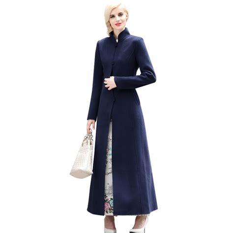 xxxl women fall winter  size maxi wool jacket