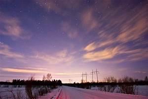 Panoramio - Photo of City lights at night sky