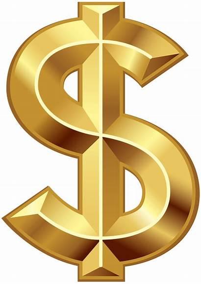 Dollar Clip Clipart Transparent Symbol Money Border