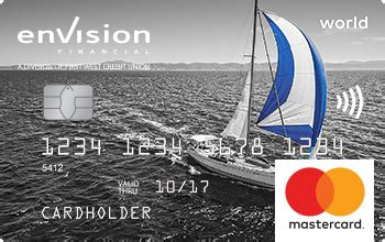 world mastercard envision financial