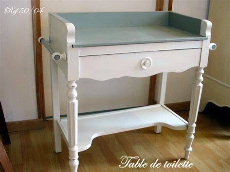 table de toilette table de toilette photo de meubles patin 233 s tendance