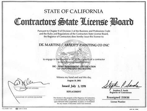 preschool license california bay area de martini arnott painting contractors 260