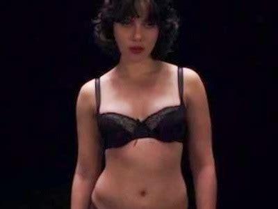 Filtran fotos del desnudo de Scarlett Johansson en Under
