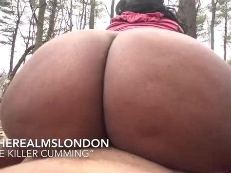 Slutty Big Titt Ebony Jas Interracial Outdoor Sex Twerk On