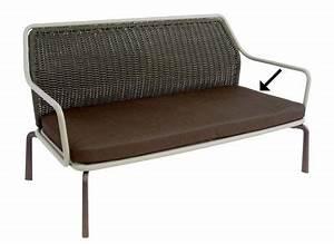 Schaumstoff Für Sitzbank : sitzkissen von emu kissen braun l 140 x larg 64 x epais 12 cm made in design ~ Yasmunasinghe.com Haus und Dekorationen