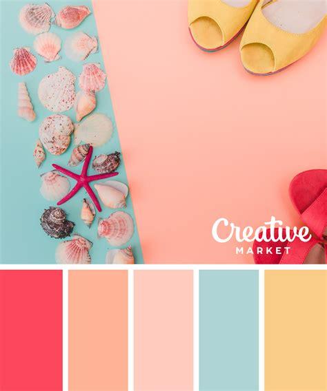 downloadable pastel color palettes  summer