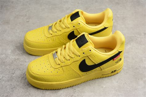 supreme shoes supreme x the x nike air 1 07 yellow