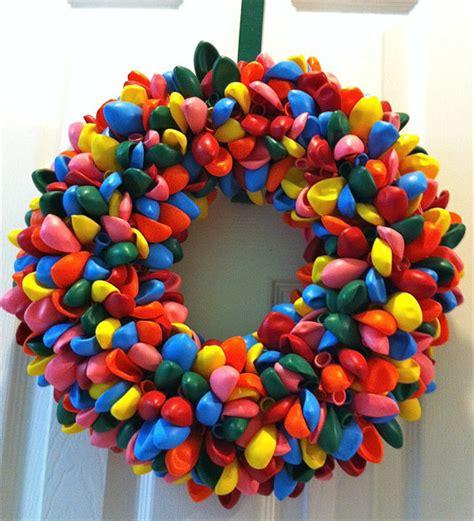 balloon wreath birthday wreath by twentysix33studio on etsy