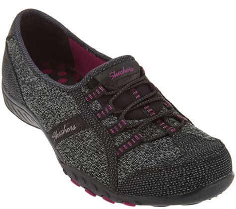 Skechers Knit Bungee Slip-ons - Save the Day - Page 1