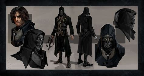 Corvo Attano From Dishonored Game Art And Cosplay Gallery
