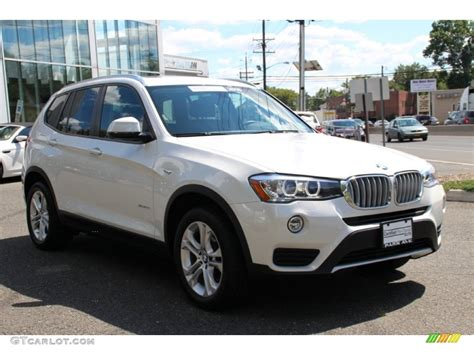 Bmw Mineral White by 2015 Mineral White Metallic Bmw X3 Xdrive35i 105779233