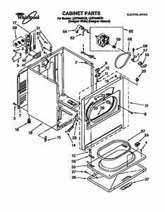 Whirlpool Model Ler7646eq0 Residential Dryer Genuine Parts