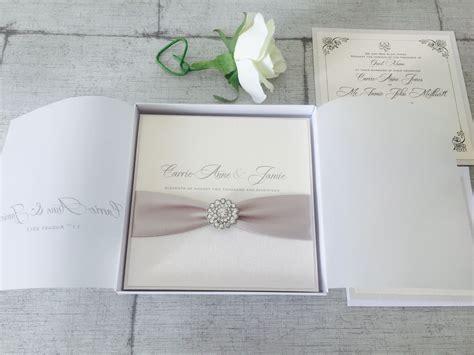 Boxed Luxury Wedding Invitations Uk
