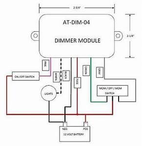 12 Volt Light Dimmer Module  Atdim04