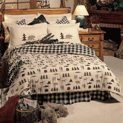 rustic bedding queen size northern exposure comforter set